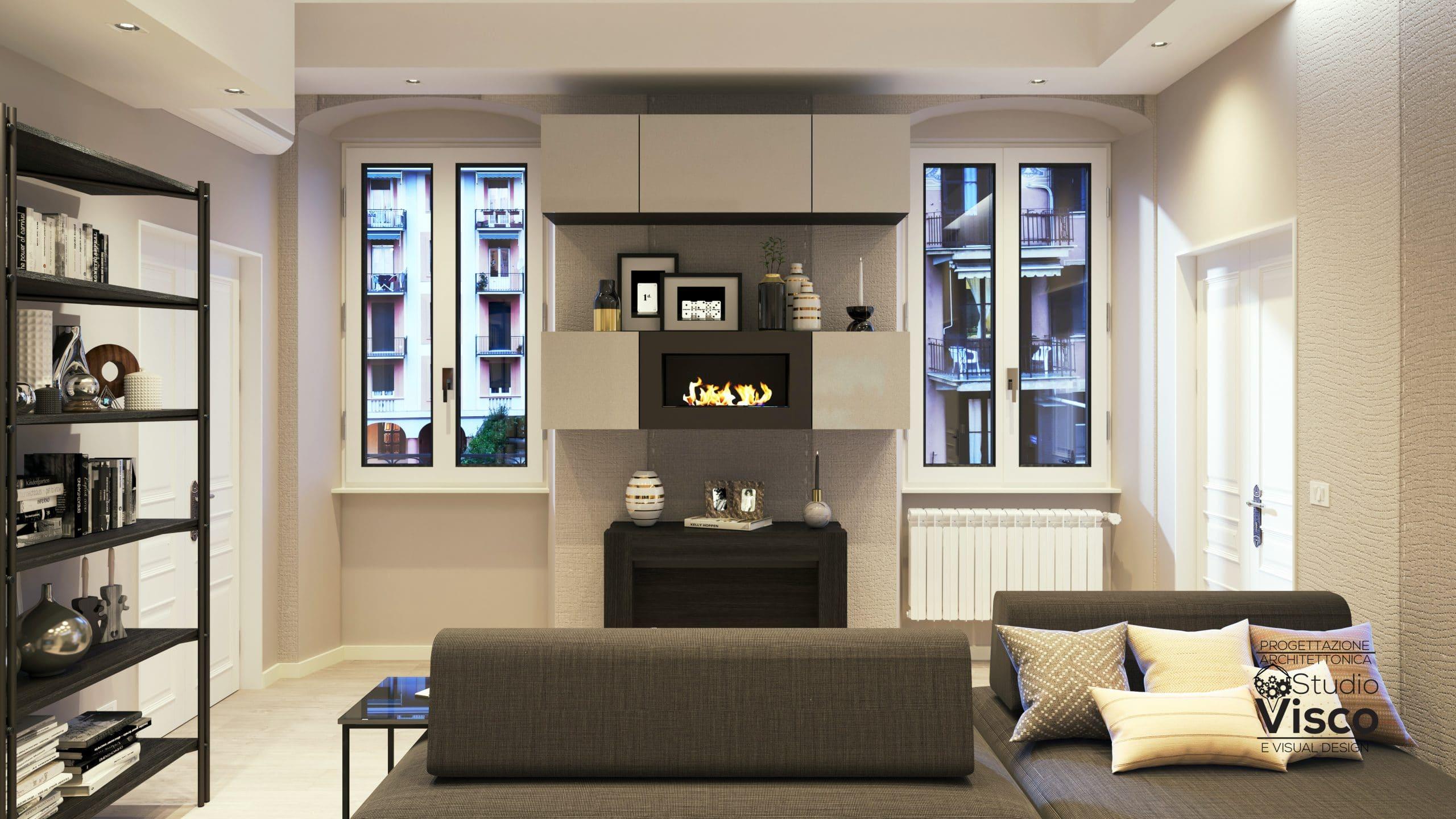 Progettazione in abitazione privata a Rapallo - Liguria